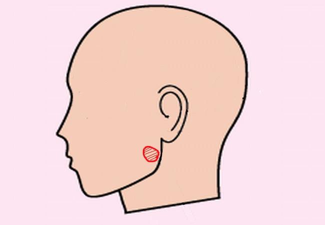歯が痛い時の応急処置・頬車のツボ